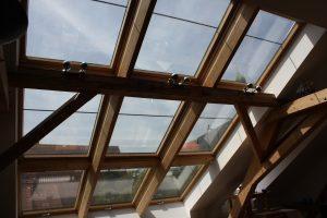 Fensterluxus beim Dachbodenausbau miti Tipp zum Bau.