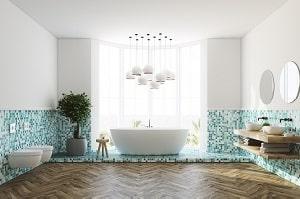 Wie sich Smart Home-Licht um eine angenehme Badezeit kümmert, zeigt Ihnen Tipp zum Bau.
