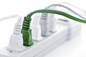 Tipp zum Bau informiert Sie über den Stromverbrauch Ihres Funksystems.