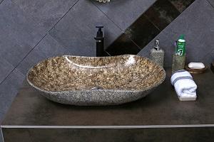 Lesen Sie bei Tipp zum Bau, welche Natursteine sich für Ihr Waschbecken einigen.