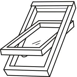 Was ein Schwingflügelfenster ist und wie es funktioniert: Das erklärt das Glossar von Tipp zum Bau.